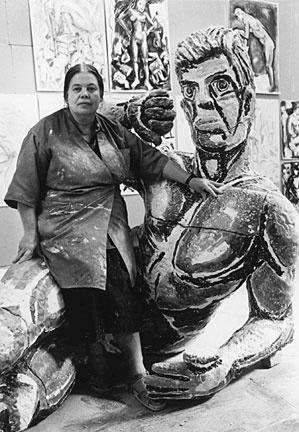Viola Frey and artwork