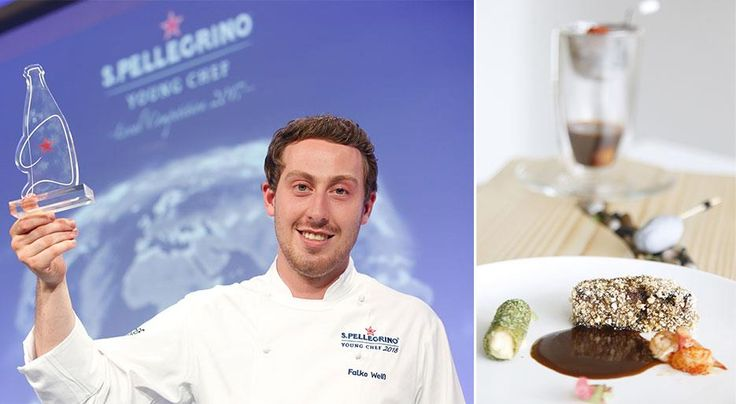 """Falko Weiß has been crowned winner in the Germany and Austria preliminary round of S.Pellegrino Young Chef 2018 with his signature dish entitled """"City/Land/River."""""""