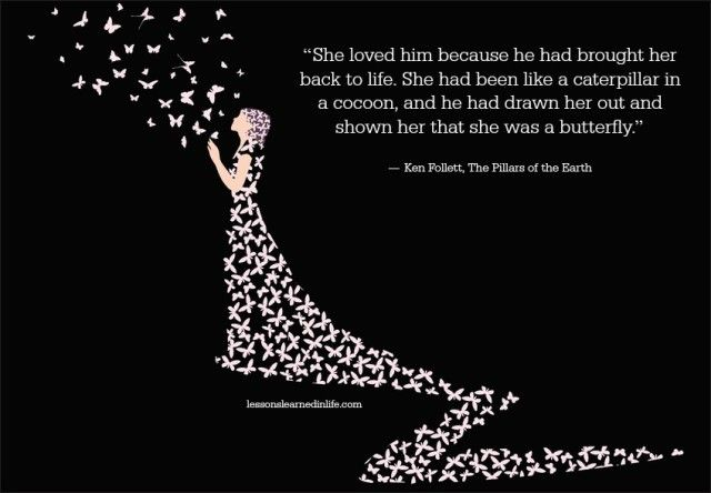 """20 Love Quotes To Get Her Back: """"She Loved Him Because He Had Brought Her Back To Life"""