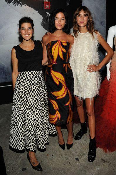 Alexa Chung Photos - Tommy Hilfiger Women's - Backstage - Mercedes-Benz Fashion Week Spring 2015 - Zimbio