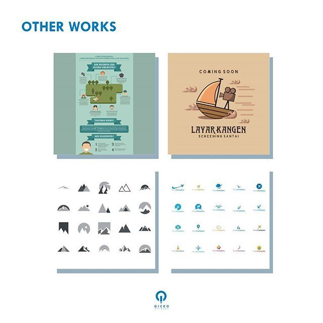 Kami juga mengerjakan jenis desain lainnya, seperti infografis, iklan, icon, template vektor, dll. Tertarik? Silakan hubungi kontak yang tertera 😄 ------- Open for commission project. Hit us at qickoartwork[at]gmail.com! 😃 #work #artwork #design #portfolio #graphicdesign #visual #infographic #icon #promo #template #vector #qickoartwork
