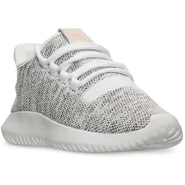adidas Women's Tubular Shadow Casual Sneakers from Finish Line ($100) ❤  liked on Polyvore