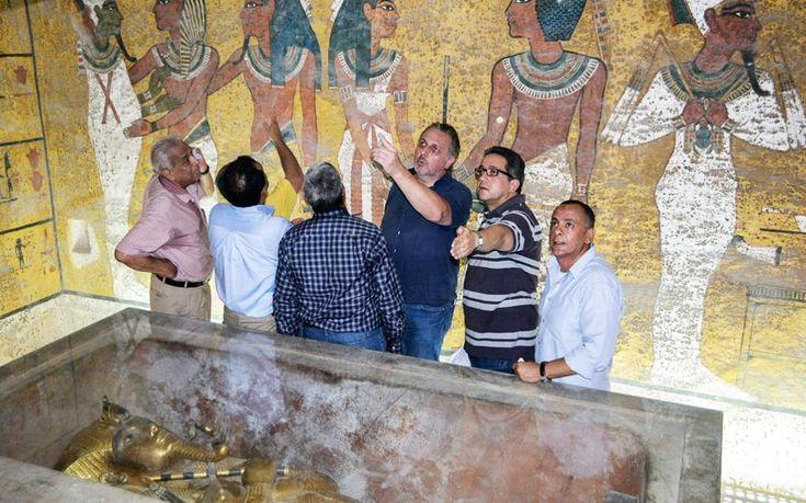 mini.press: Ανακαλύφθηκε μυστικός θάλαμος στον τάφο του Τουταγ...
