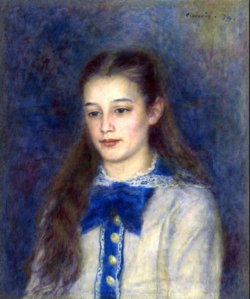 bofransson: Pierre Auguste Renoir Thérèse Berard 1879