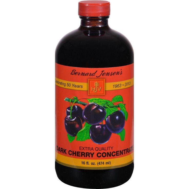 Bernard Jensen Black Cherry Concentrate Extra Quality - 16 Fl Oz