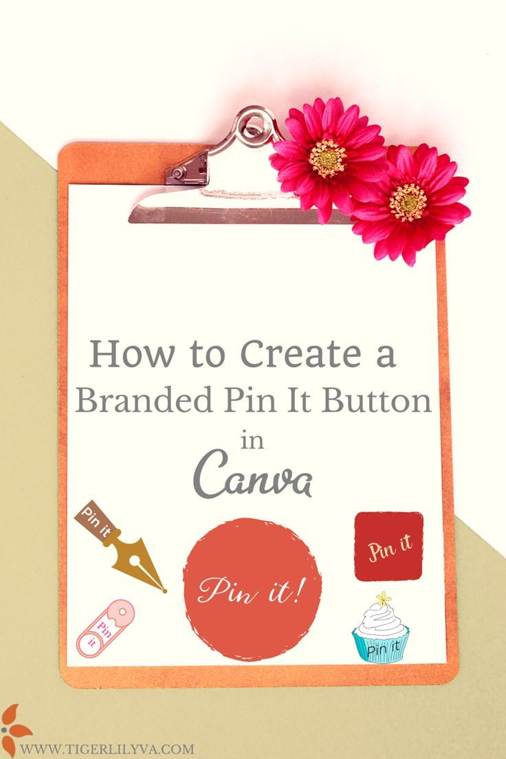 Going through the endless streams of creative blogs, the one thing I've found stands out is a branded pin it button. A custom or branded Pin It button makes a blog look fun and gives the blog character. Learn how to create yours from @tigerlily1111