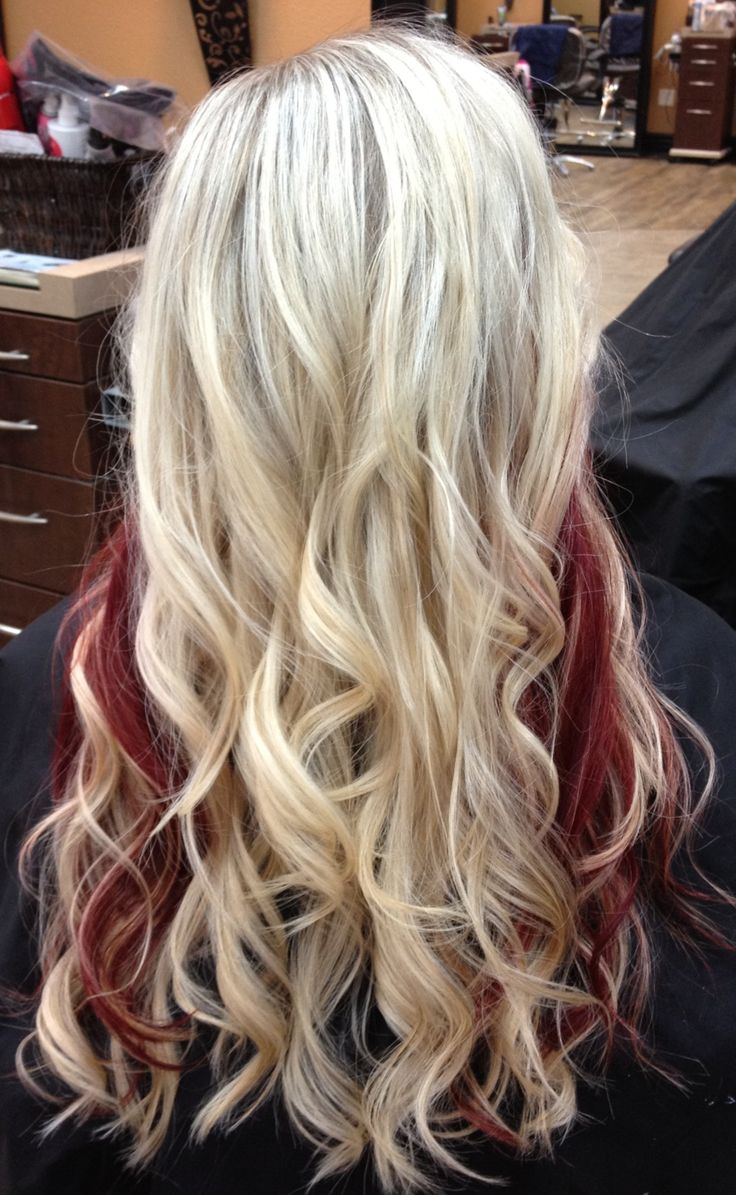 Best 25 blonde with red highlights ideas on pinterest blonde 12 beautiful blonde hairstyles with red highlights pmusecretfo Gallery