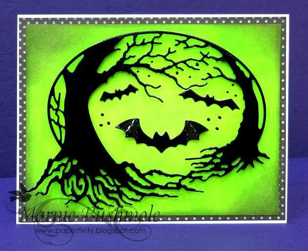 Spooky sleepy hollowby the memory box design team cards - Bat and poppy wallpaper ...