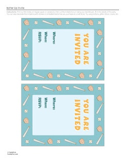 Free printable batter up birthday invitations | Awesomeness ...
