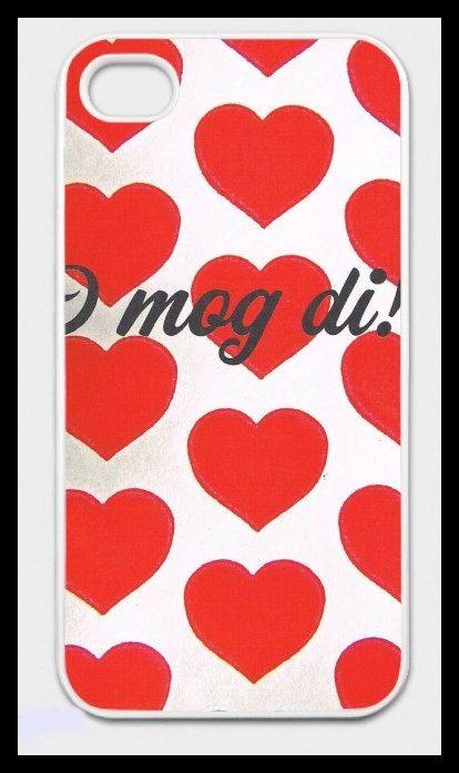 """iPhone-Hülle """"I mog di!"""" mit Herzerl-Motiv für iPhone 4/4S"""