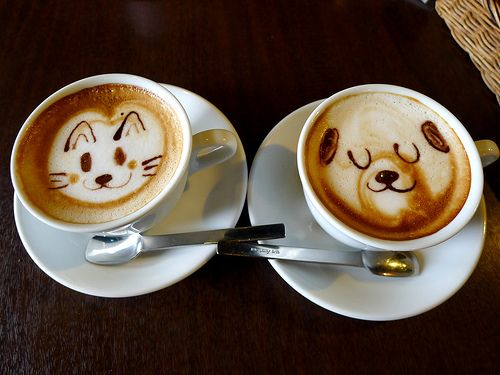 17 Best Images About Anime Latte Art On Pinterest