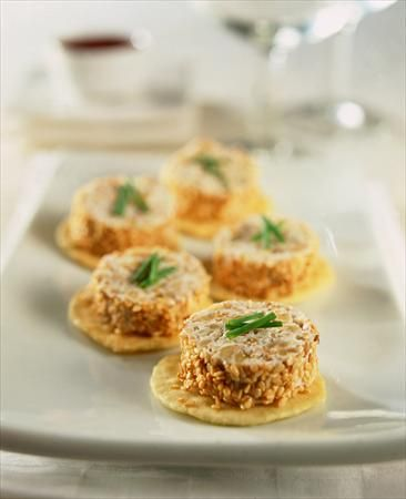 ¡Tus #invitados quedarán locos con estos rollitos! #Recetas #Sésamo #Crema