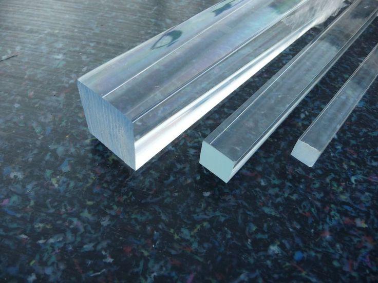 Inspirational Details zu Acrylglas Vierkant Stab x mm glasklar poliert in versch L ngen uac m