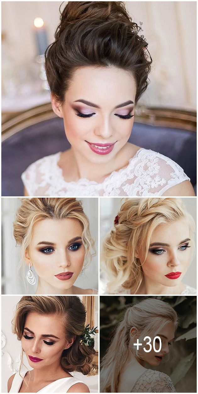30 wedding hair and makeup ideas | this day will be bomb