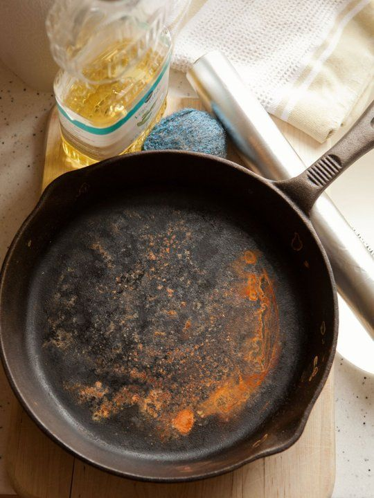 How to Restore a Rusty Cast Iron Skillet — Cleaning Lessons from The Kitchn | The Kitchn