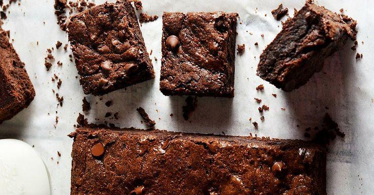 Brownies s dvěma druhy čokolády