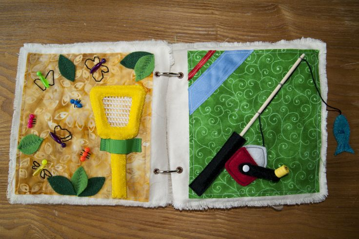 Sykes Place: My Quiet Book! It's Done!,,, very cute gone fishing book, add a page for fish dinner.
