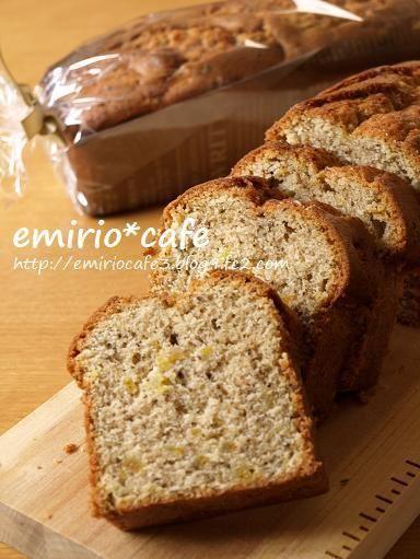 紅茶と夏みかんピールのパウンドケーキ by エミリオさん | レシピ ...
