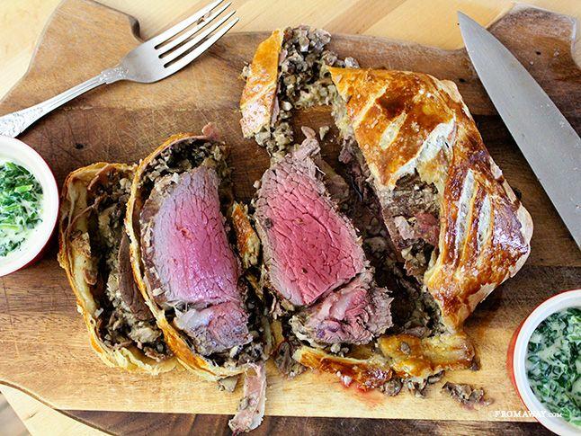 Beef Wellington | Beef Wellington and Beef