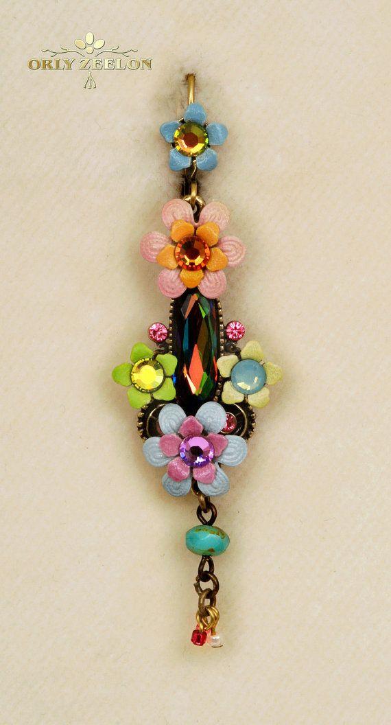 The Istanbul Long Drop Earrings 2077041482 Orly by OrlyZeelon