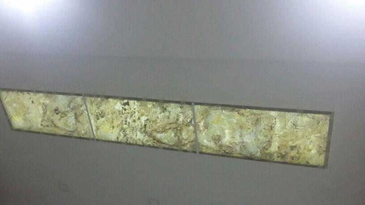 stone flex traslu ido en techo