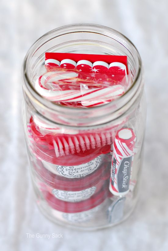 peppermint in a jar! great teacher gifts