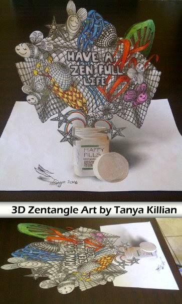 3Dzentangle by Tanyakillian