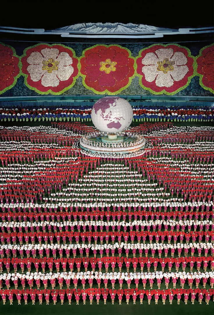 'pyongyang I' by andreas gursky