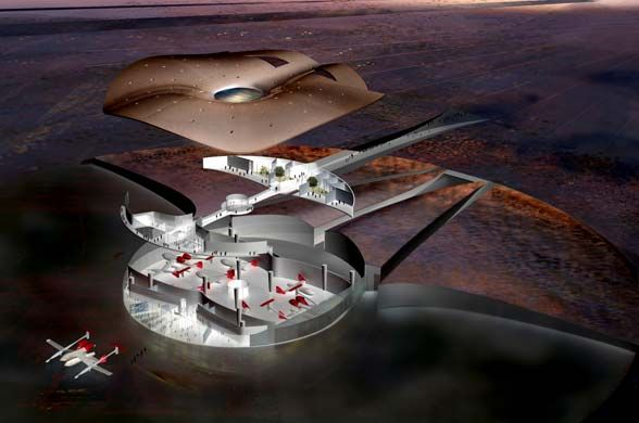Spaceport America | Projects | Foster + Partners
