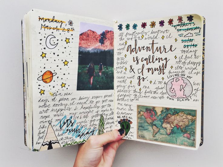 250116 Road Trip Coffee Bullet Journal Journals