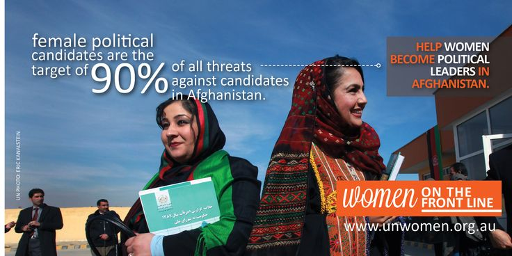 Women Politicians in Afghanistan