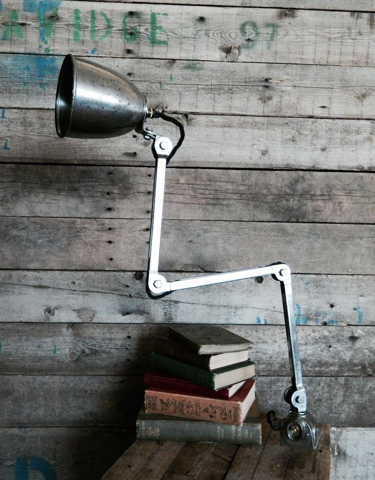E.D.L Machinest Lamp