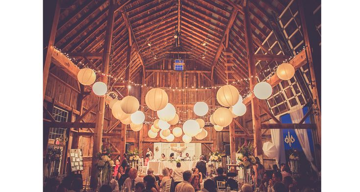 Picture perfect! Stunning barn wedding