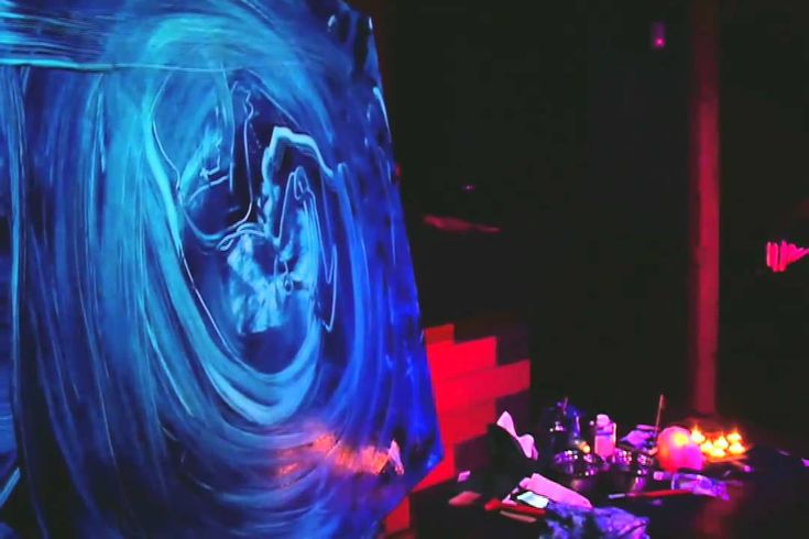 EARTH ODYSSEY PART 1 : Live Painting Violin Art Performance by GCAMWIL &...
