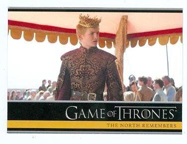 Game of Thrones trading card #01 2013 King Joffrey Baratheon @ niftywarehouse.com