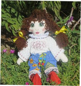 A Rag Doll Called Nicky