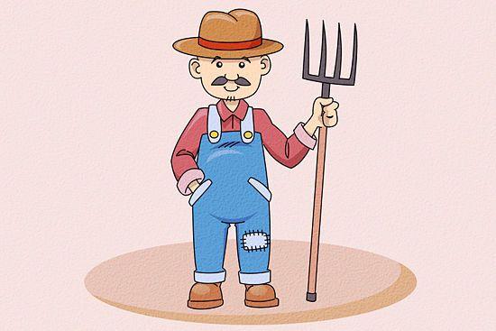 Draw A Farmer