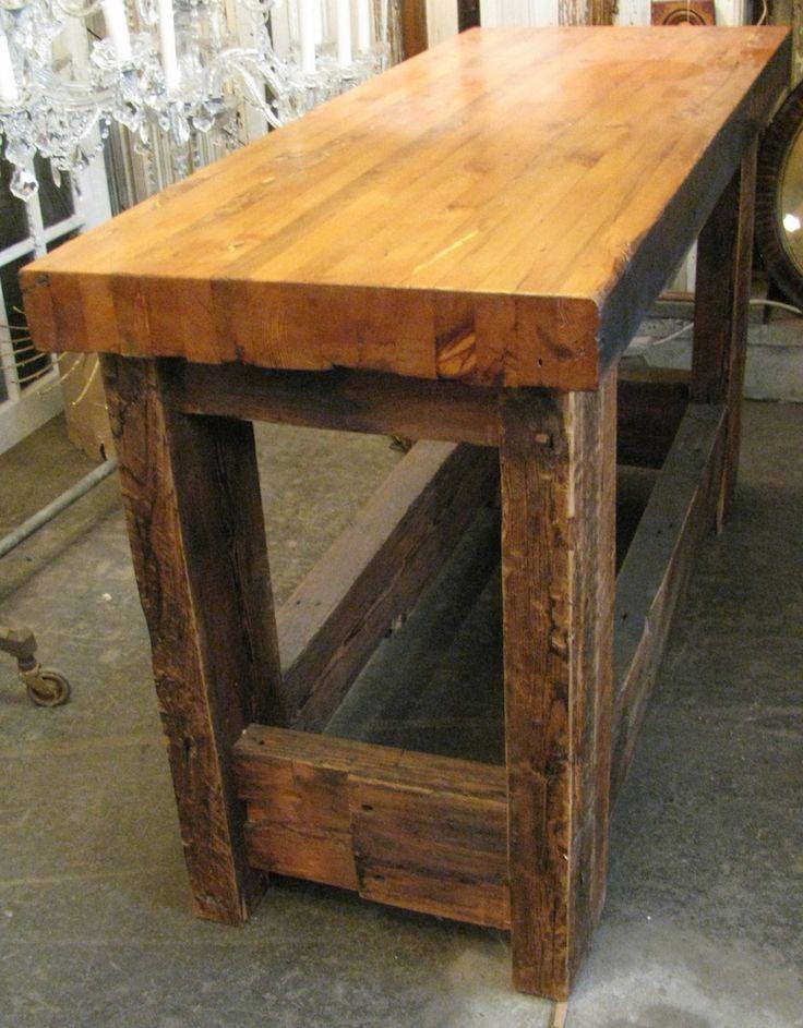 17 best ideas about butcher block tables on pinterest