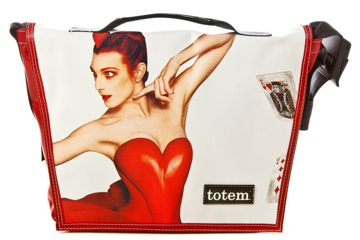 Totem Bags - T3 Hip City Messenger Bag - NB Queen of Hearts, $155.00 (http://www.totembags.ca/t3-hip-city-messenger-bag-nb-queen-of-hearts/)