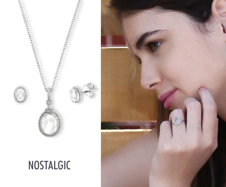 Spring 2017 Nostalgic Collection, You can also get it in goldplated silver.