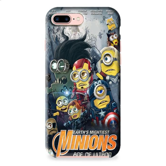 Minion Avengers iPhone 7 3D Case Dewantary