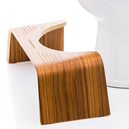 Squatty Potty - Slim with Teak Finish