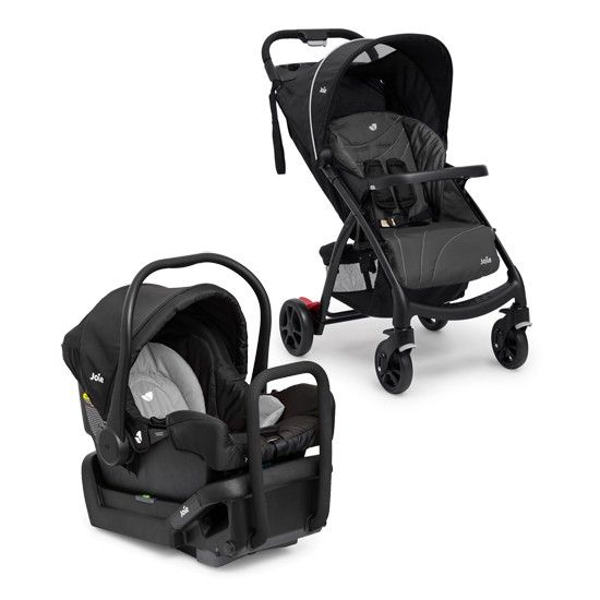 Joie Muze Travel System + Juva Capsule - Charcoal