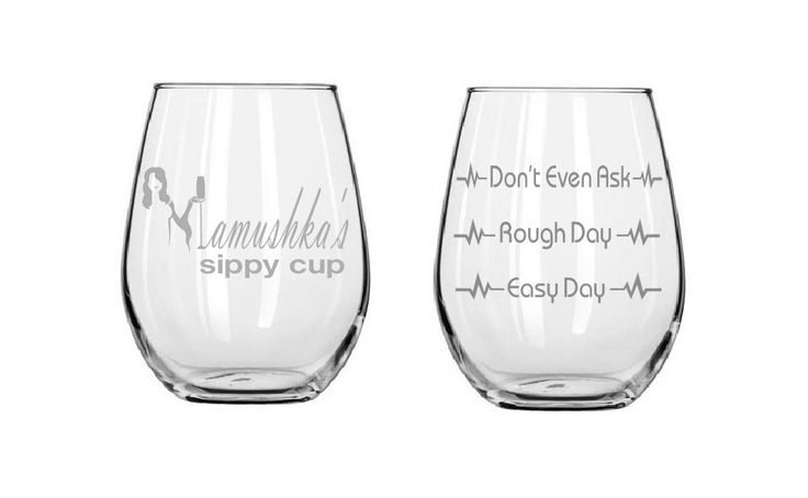 Good day Bad day glass, Etched wine glasses,Mamushka's glass,adams family, birthday gifts,Funny glass,Gifts,Christmas gifts,Etched gifts by MileStoneArtworks on Etsy