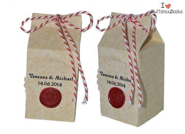 10x+Gastgeschenk+Mittelalter+Hochzeit+Verpackung++von+Kartenboutique+auf+DaWanda.com