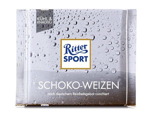 RITTER SPORT Fake-Sorte Schoko-Weizen zum Tag des Bieres! Prost!