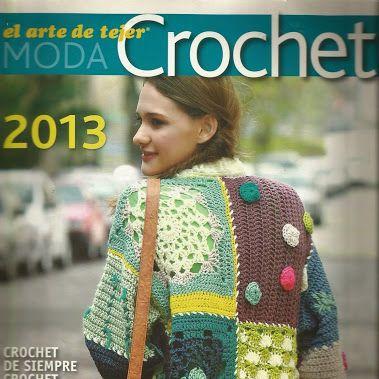revista tejer la moda al crochet