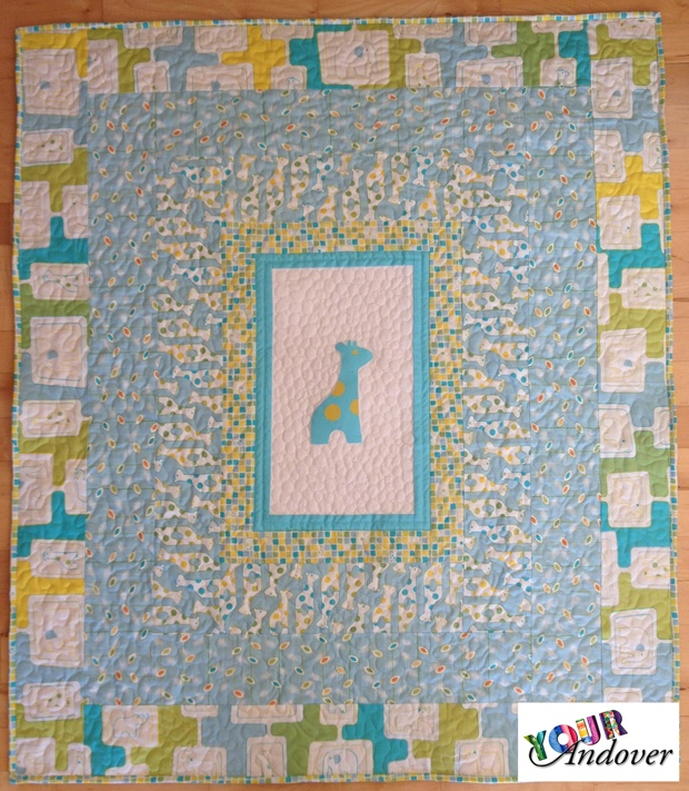 Mary Kolb made this charming quilt using our Savanna Bop collection by Thomas Knauer. Like/Repin this post to vote for Mary.