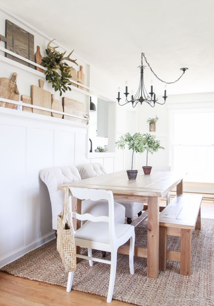 This beautiful, old farmhouse is ready for summer with fresh flowers, relaxed decor, and plenty of sunshine. Come take a tour!