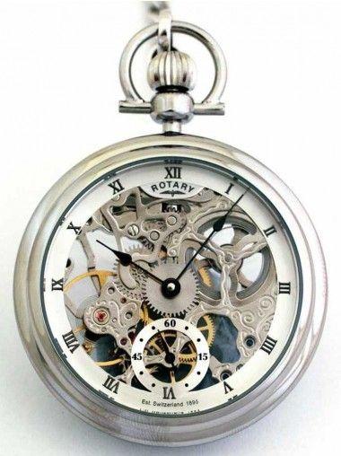 Rotary Mens Pocket Watch MP00723-21